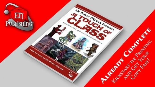 A Touch of Class Kickstarter Double Trouble Pledge